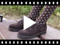 Video from Zapatos blucher de serraje