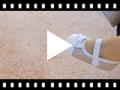 Video from Merceditas Bebé Napa y Serraje Brillos con Velcro