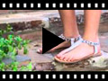 Video from Sandalia Piel Dedo Animal Print