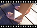 Video from Sandalias Cuña Pequeña Plantilla de Gel