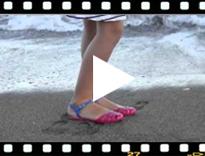 Video from Sandalias Cangrejeras para Mujer modelo Mara