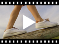 Video from Zapatillas Contraste de Lona y Cordones