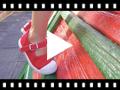 Video from Zapatillas Lona Niña con Hebilla y Puntera de Goma