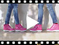Video from Botas Charol Niños con Velcro