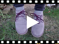 Video from Zapatos Blucher Serraje Suela y Cordones Colores