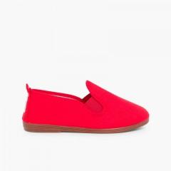Zapatillas kung-fu camping Rojo