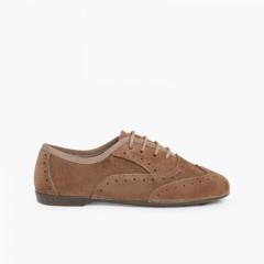 Zapatos Blucher Niña Topo