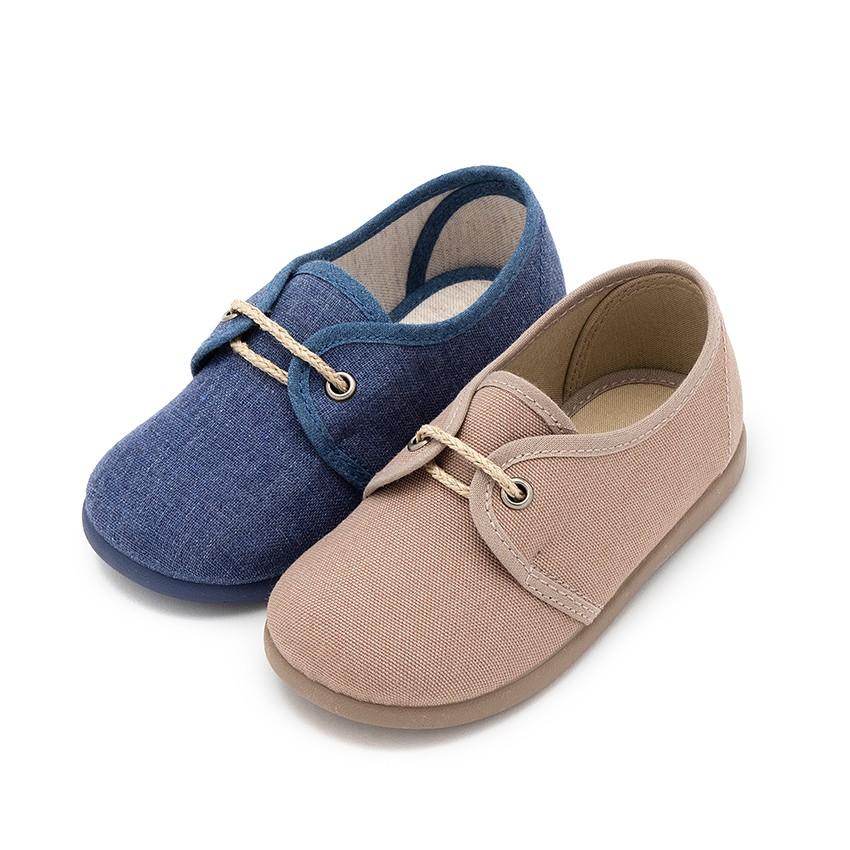 Zapatos Blucher Niños Lona