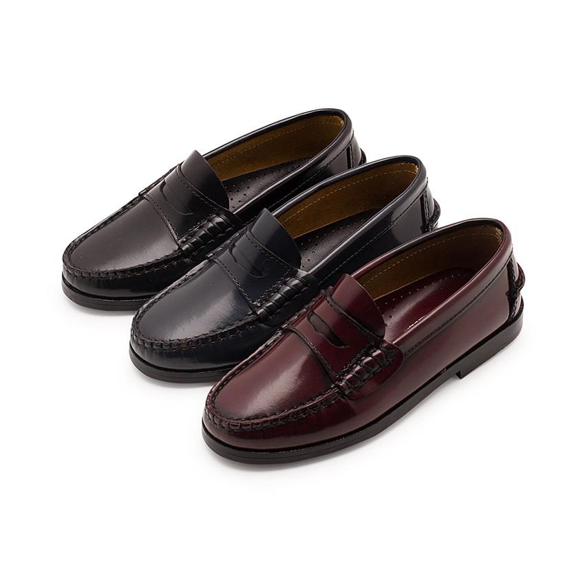 Zapatos castellanos Mocasines de piel para Niño