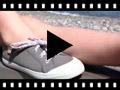 Video from Zapatillas Tela Punta Goma Cordones