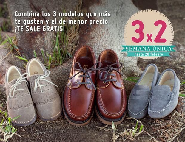 3x2 Febrero 2017 Zapatos Niño