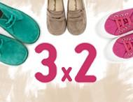 3x2 Pisamonas Calzado Infantil Febrero 2017