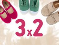 3x2 Pisamonas Calzado Infantil 2017