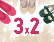3x2 Pisamonas Calzado Infantil Febrero