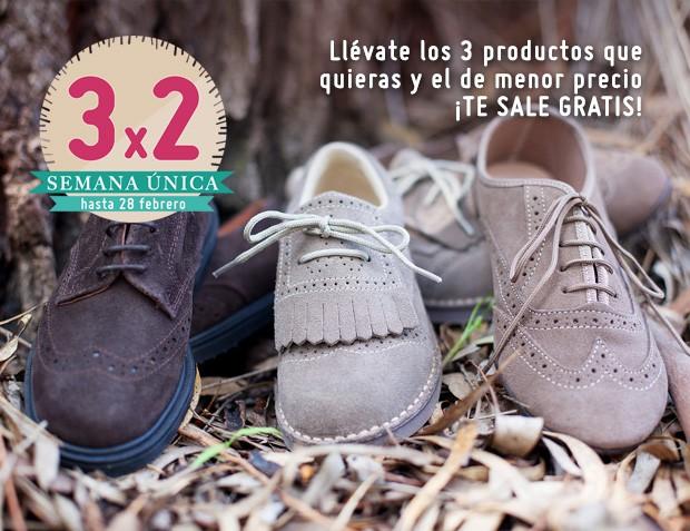 3x2 Zapatos Blucher Niño