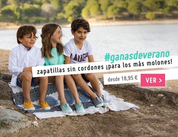 Zapatillas Sin Cordones para Niños y Adultos Primavera Verano 2017