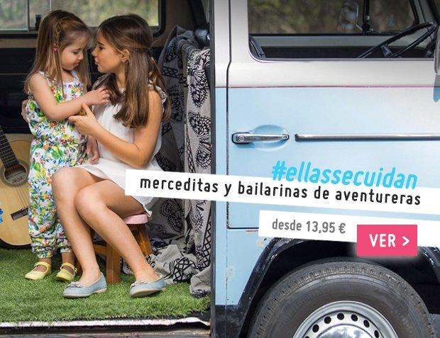 Bailarinas y Merceditas para Niña Nueva Colección Primavera Verano 2017