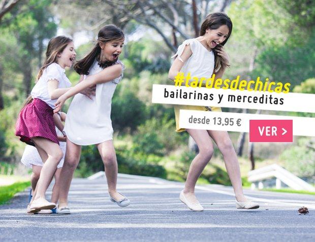 Bailarinas y Merceditas para Niña y Mujer Nueva Colección Primavera Verano 2017