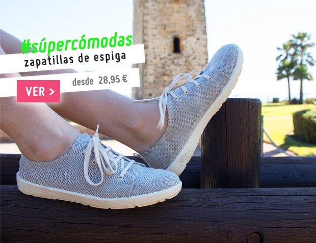 Zapatillas Lona Niño, Niña y Mujer Primavera Verano 2017