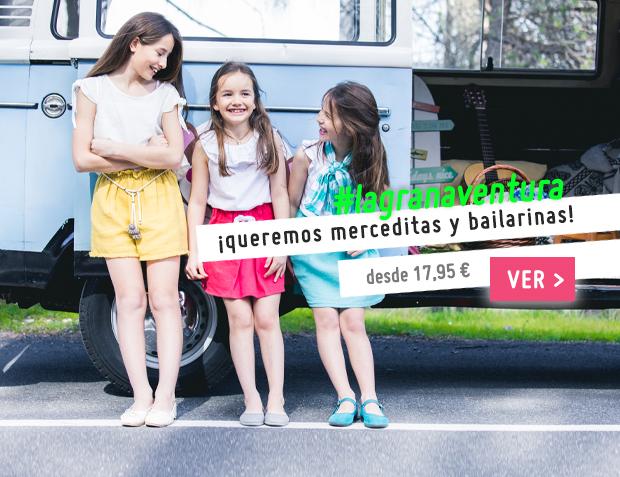 Bailarinas y Merceditas Colección Primavera Verano 2017