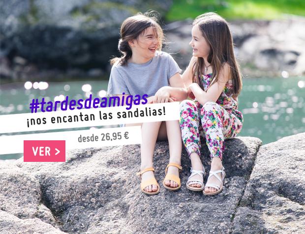Sandalias Niña Colección Primavera Verano 2017