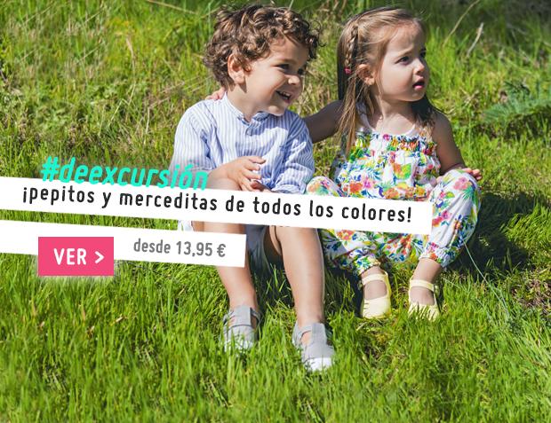 Merceditas Niña y Pepitos Niño Colección Primavera Verano 2017