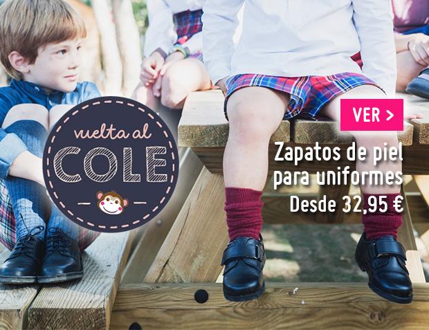 Zapatos colegiales Niños Vuelta al Cole 2017