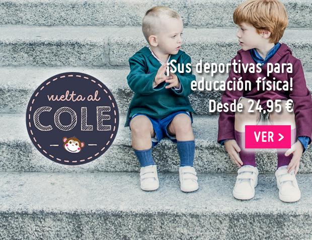 Zapatillas deportivas Niños Vuelta al Cole 2017