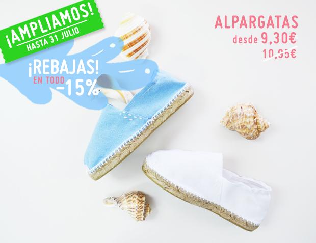 Ampliamos Rebajas Pisamonas hasta final de julio, calzado de calidad a buen precio, más barato