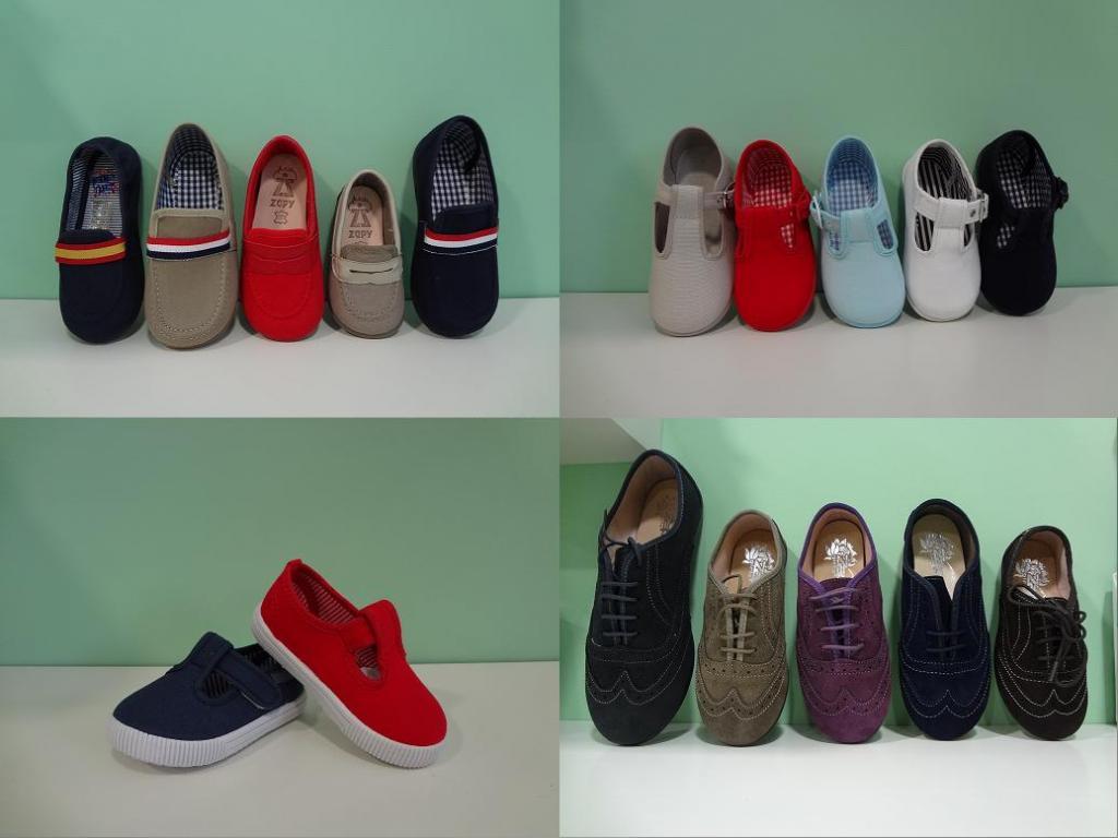 zapatos niños primavera en pisamonas