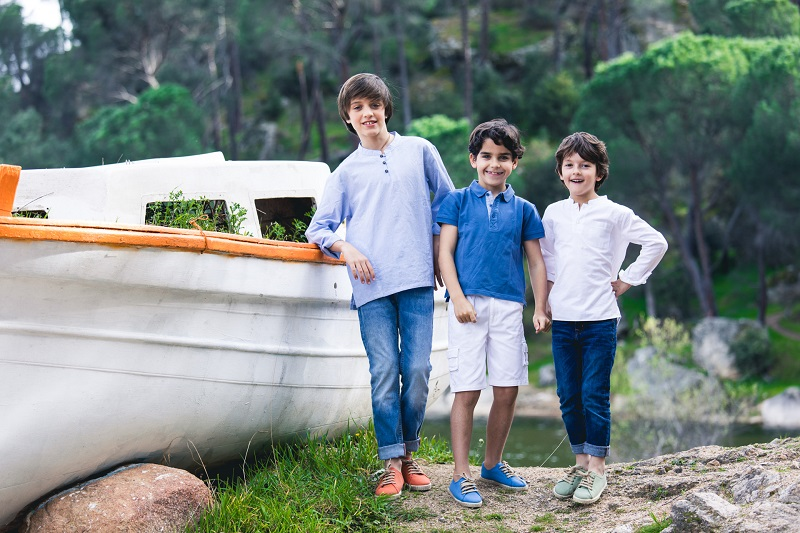 Zapatillas Suela de Alpargata para Niños