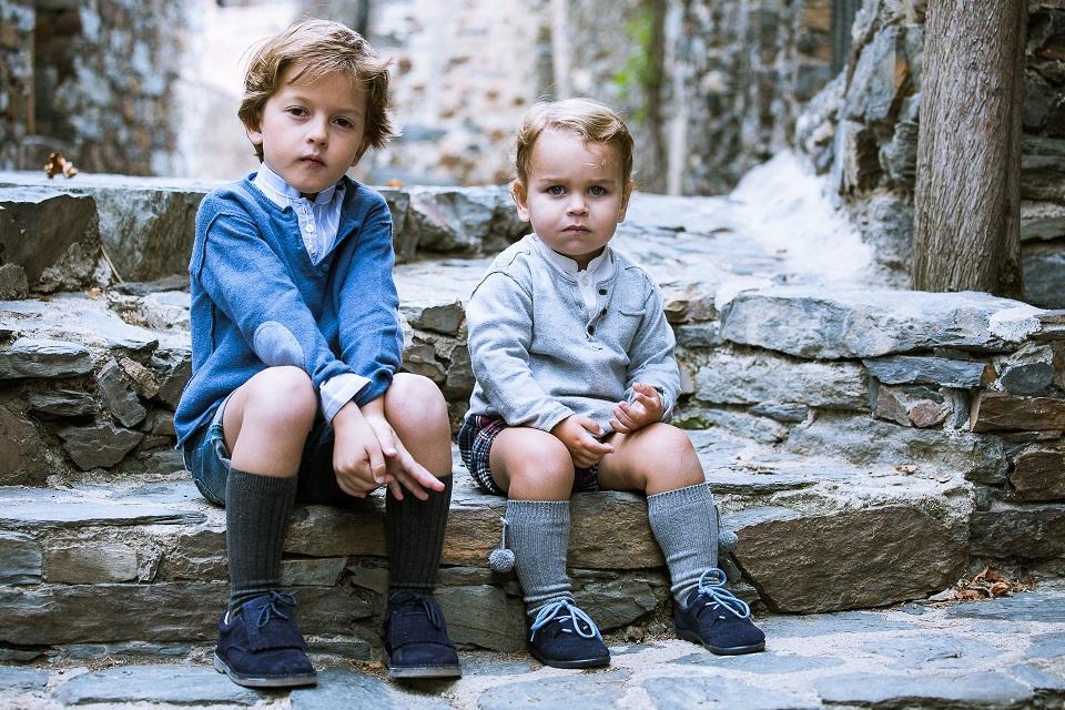 Zapatos Flecos y Gales para Niños Pisamonas