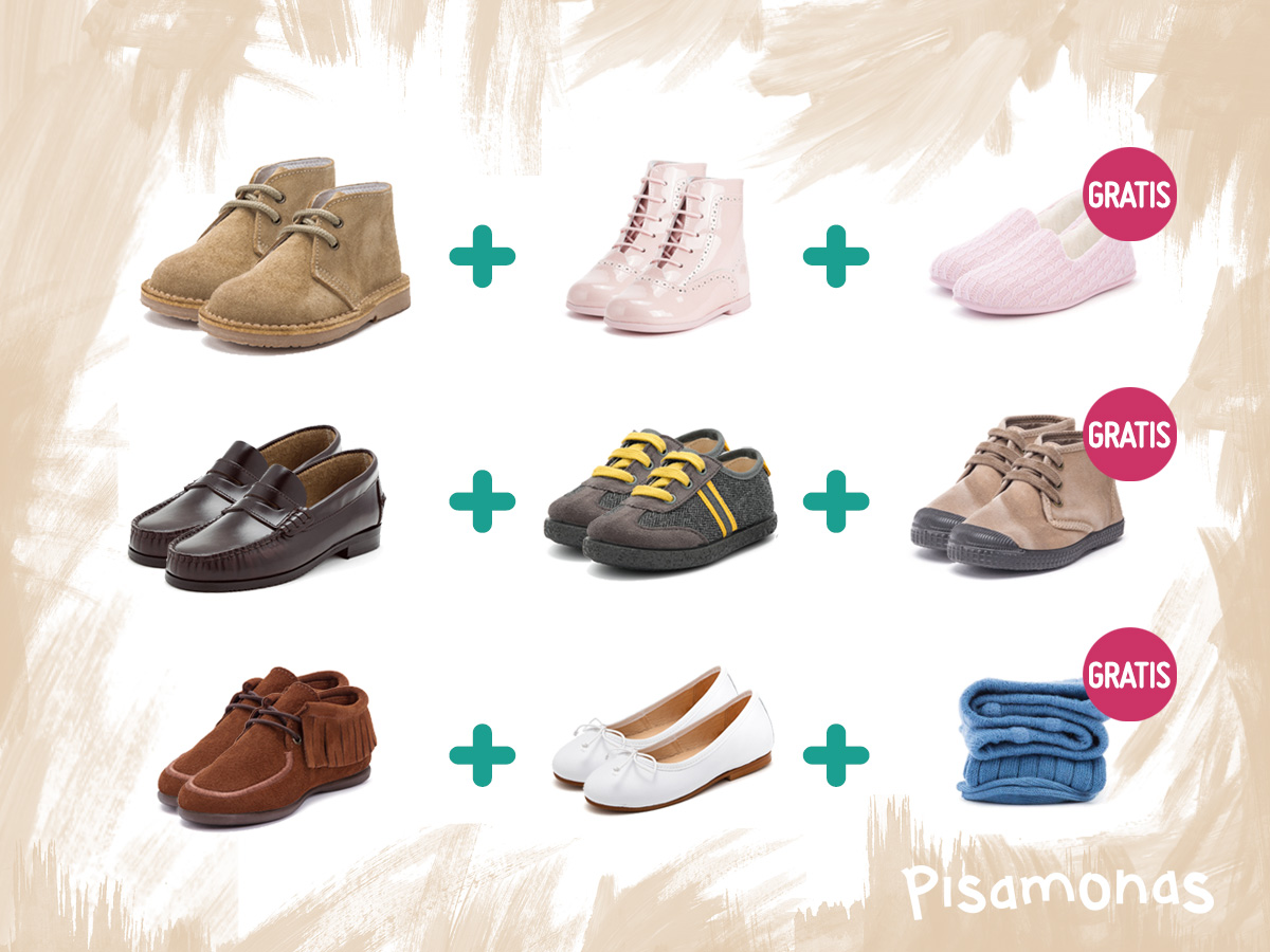 Ideas para aprovechar oferta de calzado 3x2