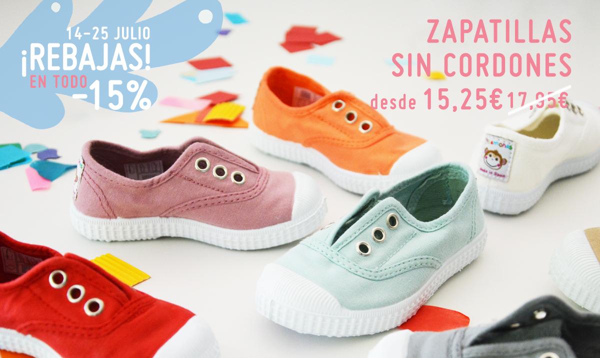 Pisamonas Rebajas de Verano zapatos y calzado infantil a buen precio