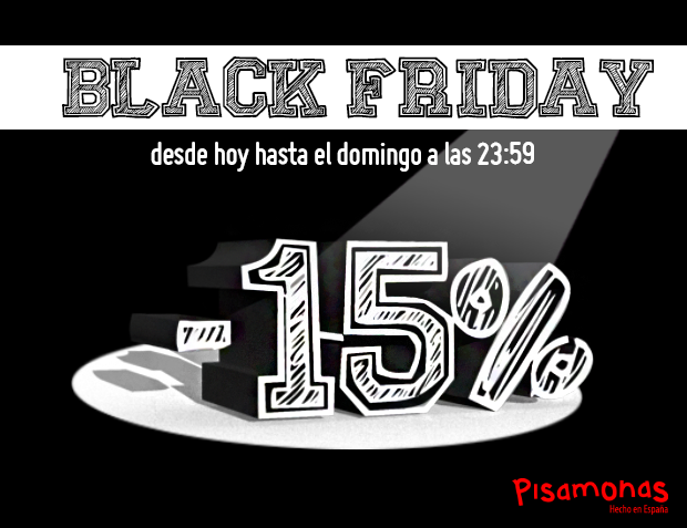 Black Friday 2014 en Pisamonas España