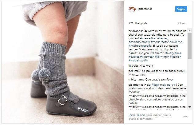 Instagram pisamonas looks zapatos y calcetines a juego