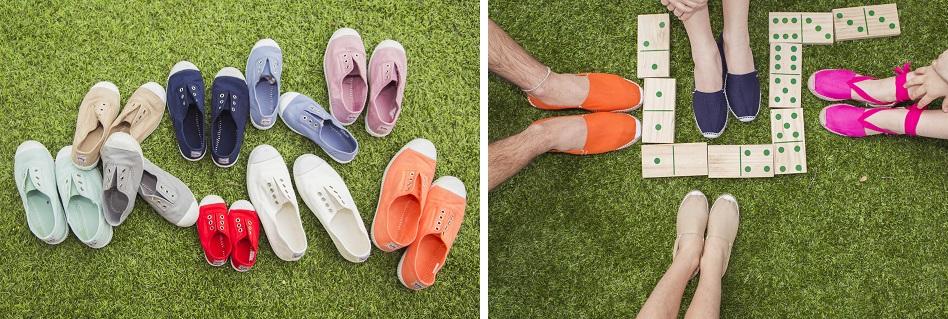 Nuevos colores 2015 en zapatillas y alpargatas Pisamonas