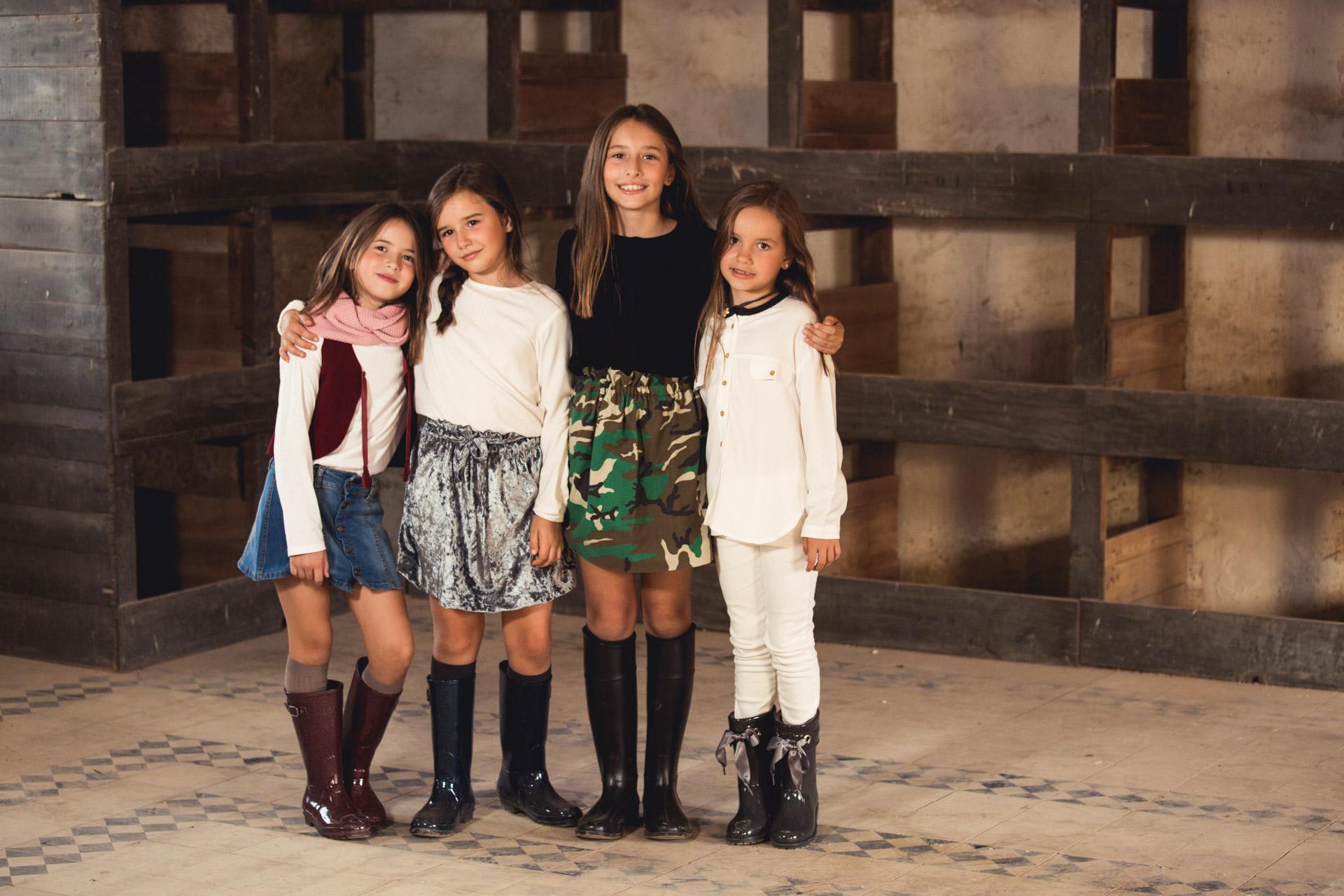 Nueva Colección calzado Otoño Invierno 2016 Pisamonas Botas lluvia niñas