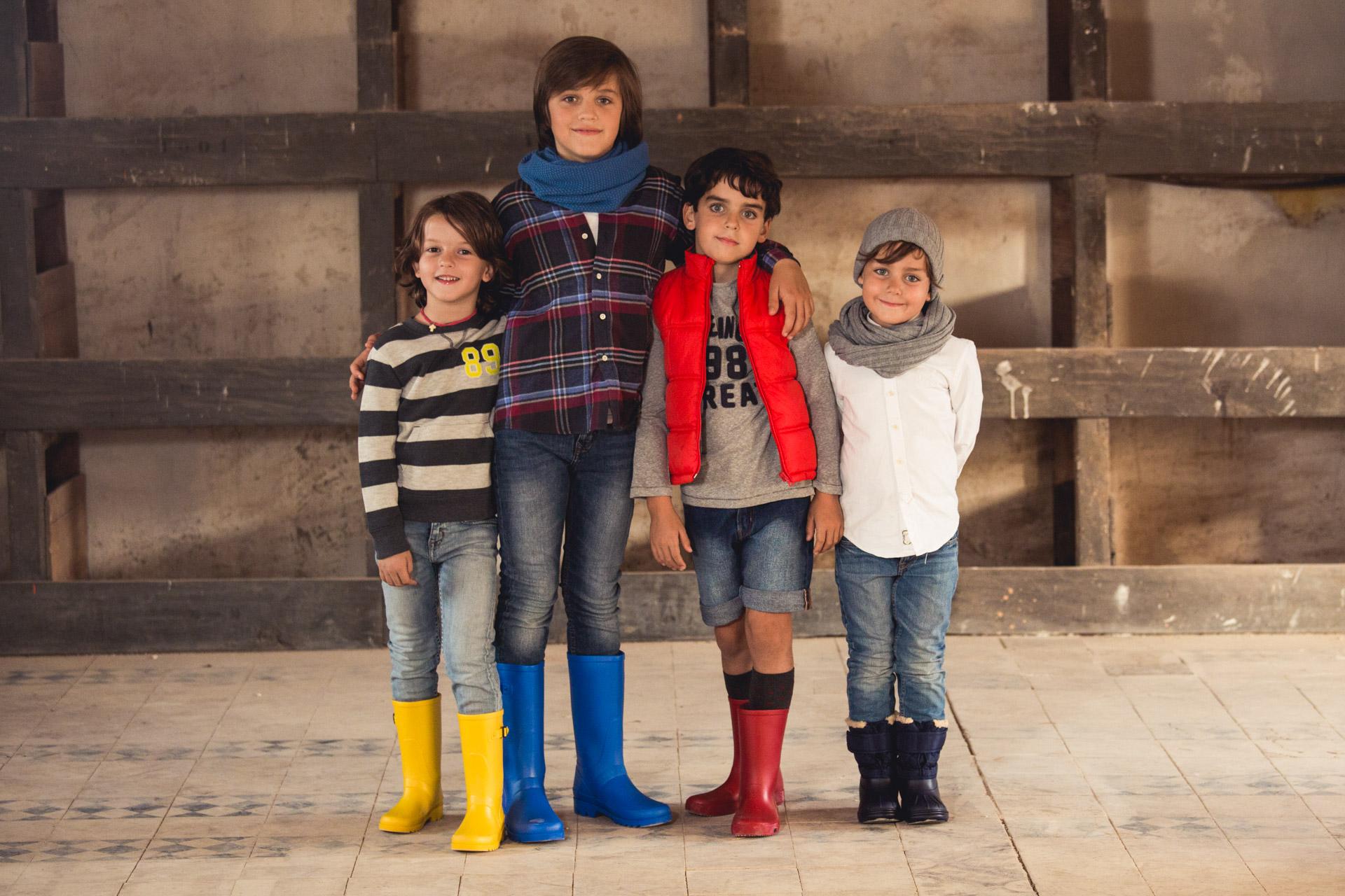 Nueva Colección calzado Otoño Invierno 2016 Pisamonas Bota Agua niños
