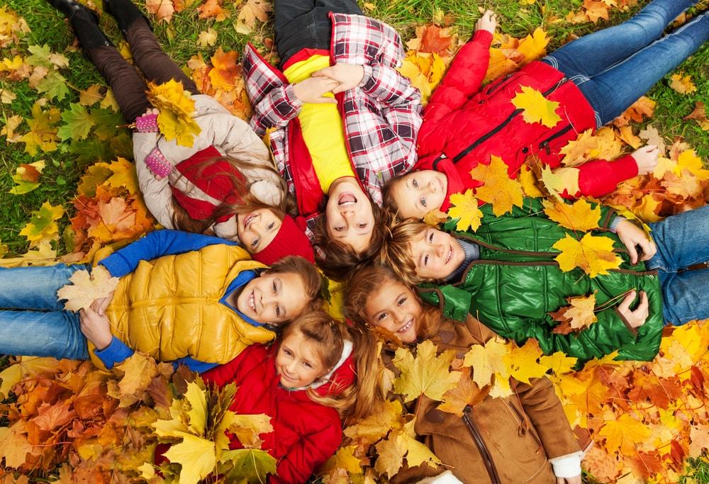 Planes para hacer con niños en fin de semana en otoño
